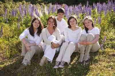 Yasna y sus hijos